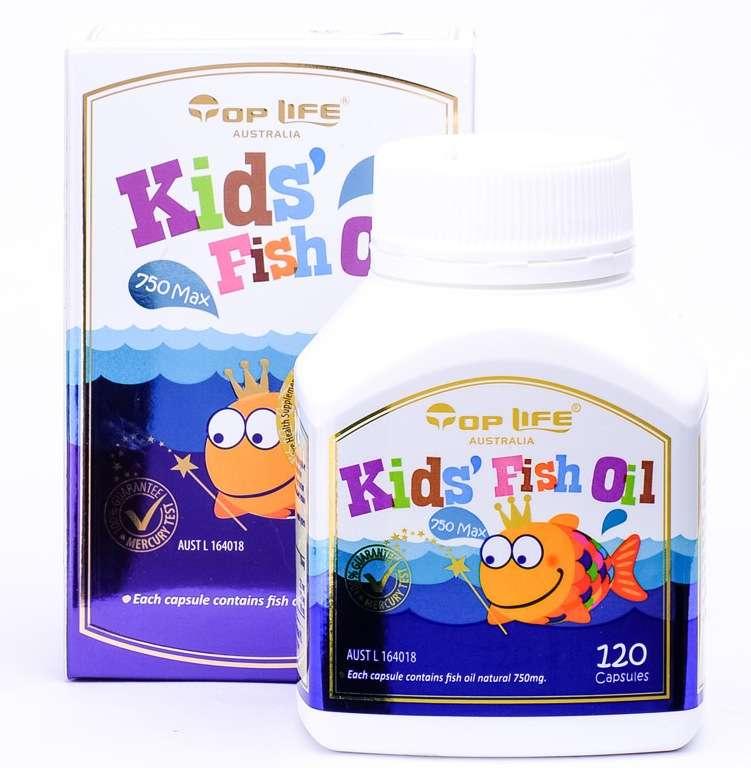 Top Life Kids Fish Oil 750mg