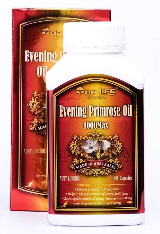 Top Life Evening Primrose Oil 1000mg