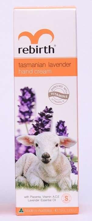 Rebirth Placenta Tasmanian Lavender Hand Cream 75ml