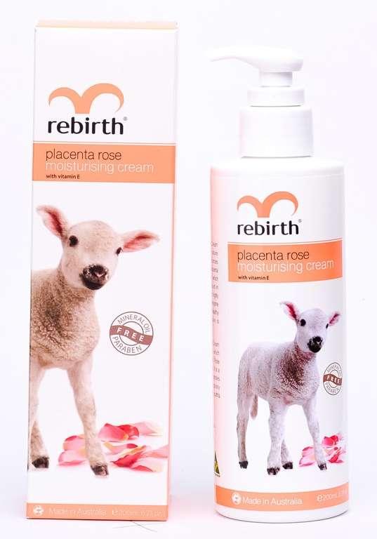 Rebirth Placenta Rose Moisturising Cream 200ml