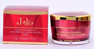 J&K Ultra Nourishing Anti Wrinkle Moisturiser COQ10 50g