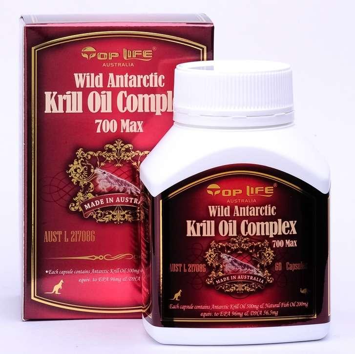 Top Life Wild Antarctic Krill Oil 60 Caps