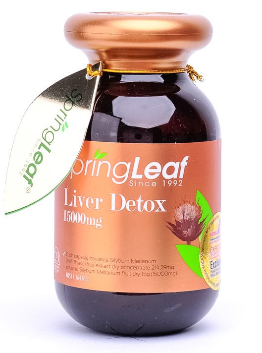 SpringLeaf Liver Detox 1500mg 120 Caps