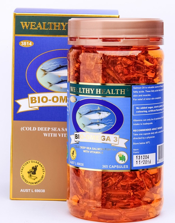 Wealthy Health Bio Omega 3 365 Caps