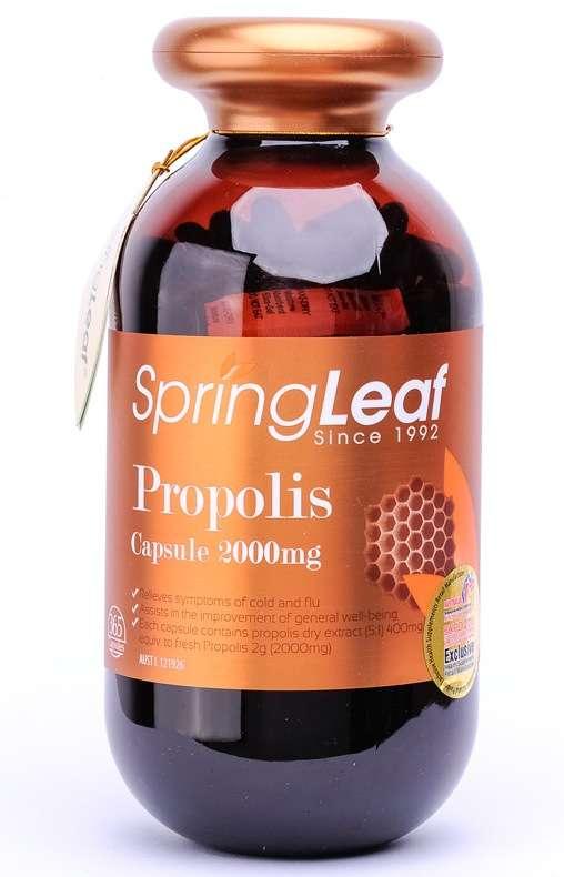 SpringLeaf Propolis 2000mg 365 Caps