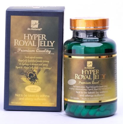 Dr. Natural Hyper Royal Jelly 120 Caps