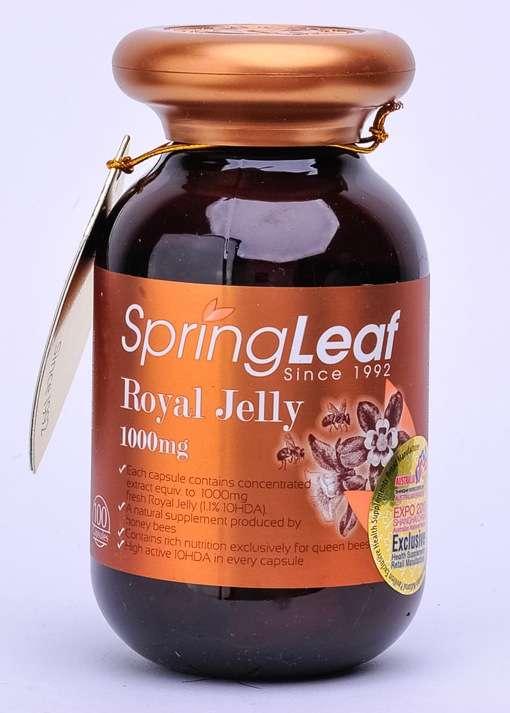 SpringLeaf Royal Jelly 1000mg 400 Caps