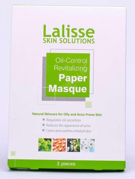 Lalisse Paper Oil Control Masque - 3 pieces